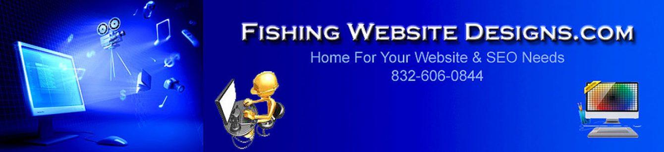 Fishing Website Designs